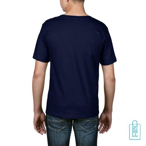 T-Shirt kind goedkoop bedrukt navy
