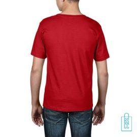 T-Shirt kind goedkoop bedrukt rood