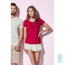 T-Shirt vrouwen Biologisch katoen bedrukken goedkoop