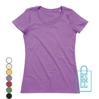 T-Shirt vrouwen Biologisch katoen bedrukken