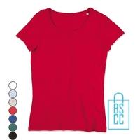 T-Shirt vrouwen cotton bedrukken