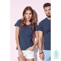 T-Shirt vrouwen recht model bedrukken goedkoop