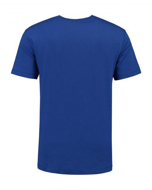 T-shirt heren unisex bedrukken blauwe
