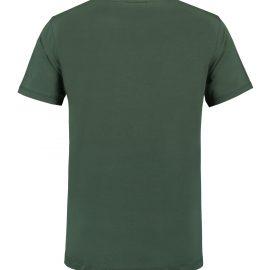 T-shirt heren unisex bedrukken donker groen