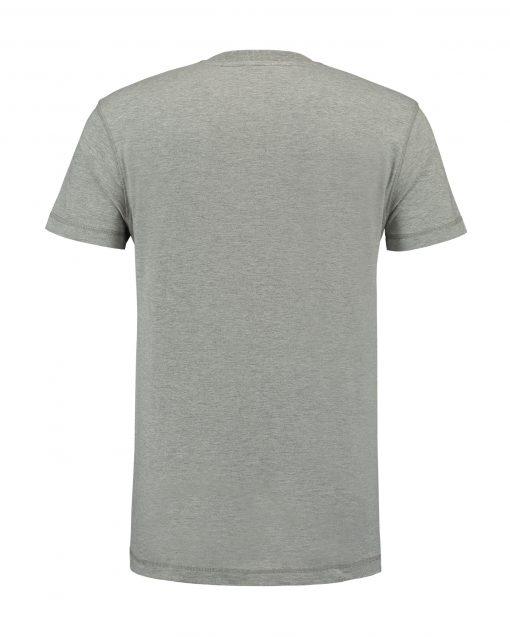 T-shirt heren unisex bedrukken licht grijs