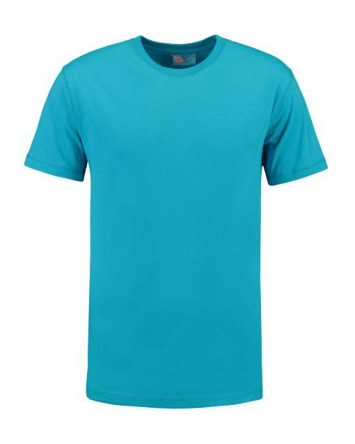 T-shirt heren unisex bedrukken lichtblauw