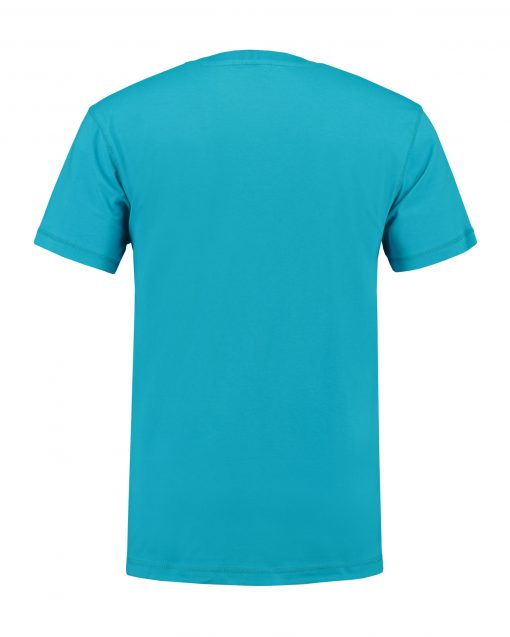 T-shirt heren unisex bedrukken lichtblauwe