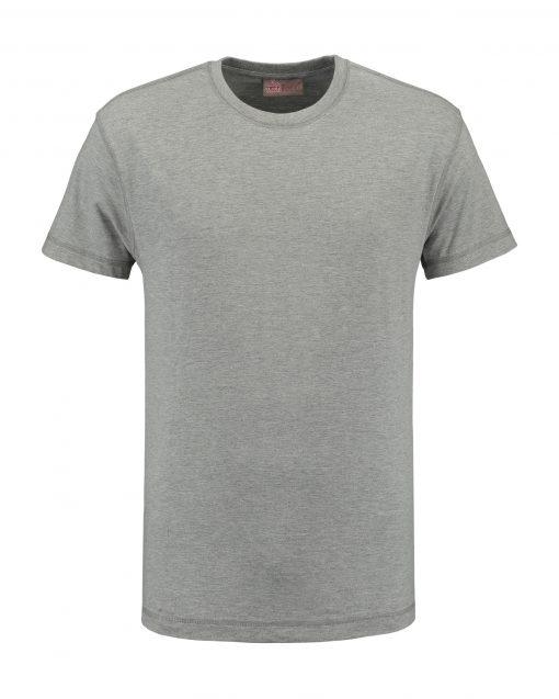 T-shirt heren unisex bedrukken lichtgrijs