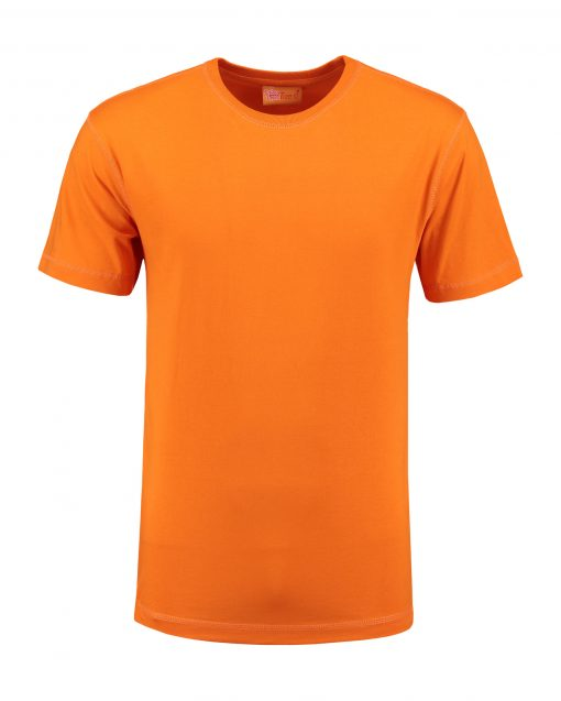 T-shirt heren unisex bedrukken orange