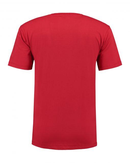 T-shirt heren unisex bedrukken rode
