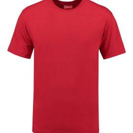 T-shirt heren unisex bedrukken rood