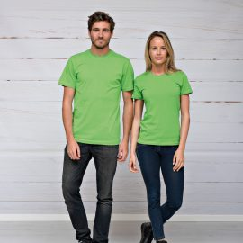T-shirt heren unisex bedrukken uni
