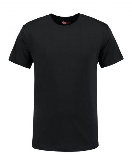 T-shirt heren unisex bedrukken zwart