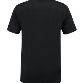 T-shirt heren unisex bedrukken zwarte