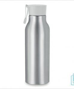 Aluminium drinkfles bedrukken wit