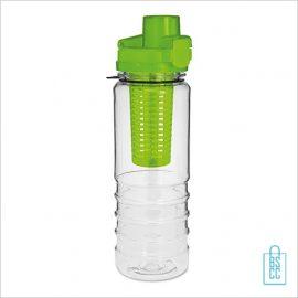 Drinkfles fruitcompartiment bedrukken groen