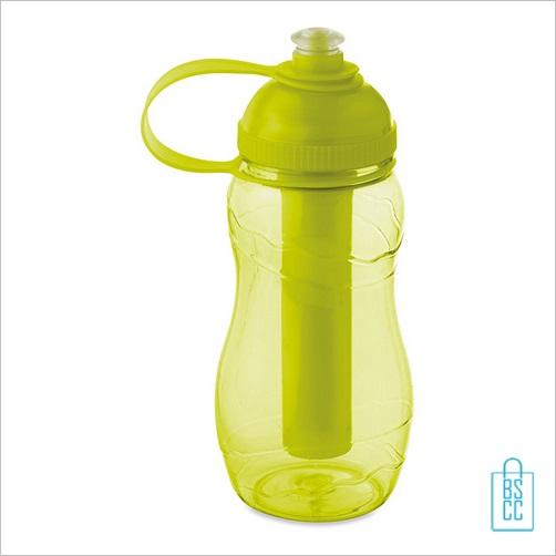 Drinkfles goedkoop bedrukken geel