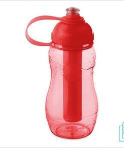 Drinkfles goedkoop bedrukken rood