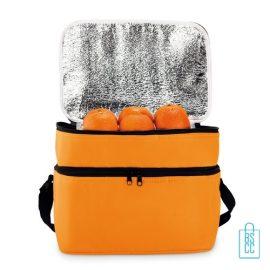 Koeltas modern bedrukken oranje