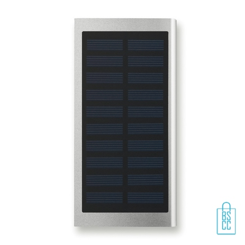 Powerbank solar bedrukken zoncel