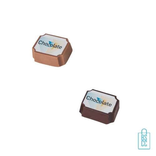 Bonbon hazelnoot praline bulk bedrukken melk, chocola bedrukken, puur