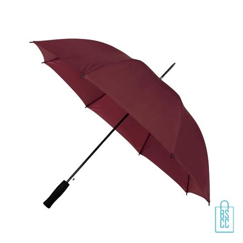 Goedkope paraplu bedrukken GP-31 bordeaux rood