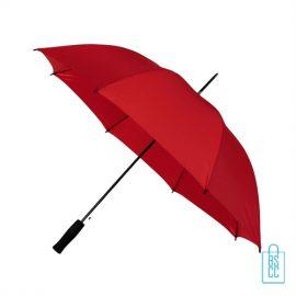 Goedkope paraplu bedrukken GP-31 rood automaat