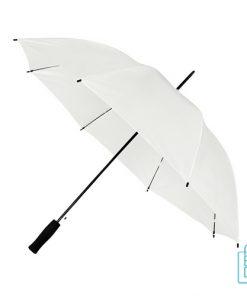Goedkope paraplu bedrukken GP-31 wit met logo