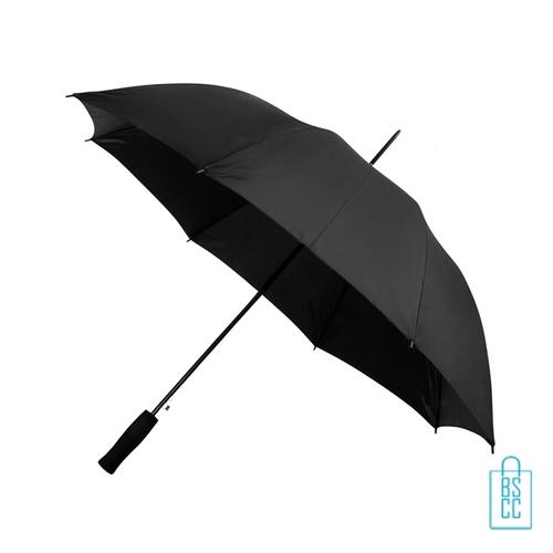 Goedkope paraplu bedrukken GP-31 zwart lang