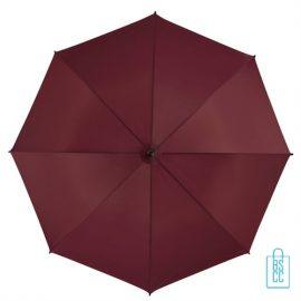 Goedkope paraplu bedrukt GP-31 bordeaux rood budget