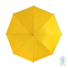 Goedkope paraplu bedrukt GP-31 geel automatisch open