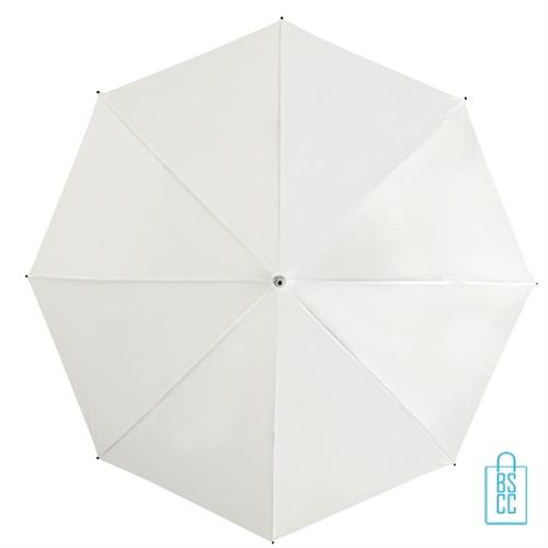 Goedkope paraplu bedrukt GP-31 wit