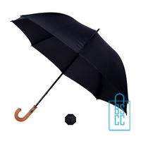 Golf paraplu bedrukken GP-17 zwart