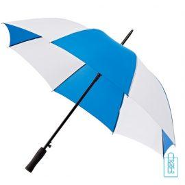 Golf paraplu bedrukken GP-36 blauw wit goedkoop