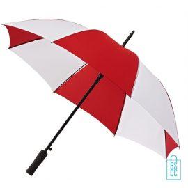 Golf paraplu bedrukken GP-36 rood wit