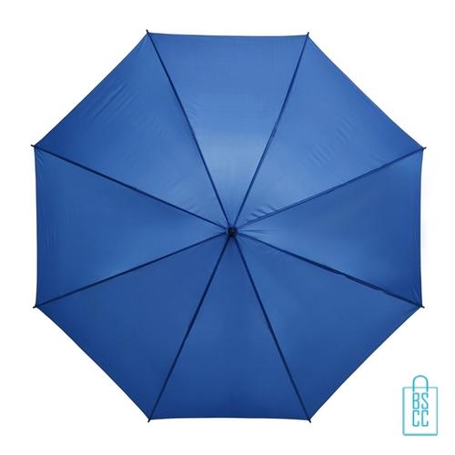 Golf paraplu bedrukken GP-6 blauw goedkoop