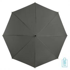 Golf paraplu bedrukken GP-6 grijs goedkoop
