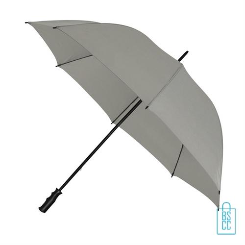 Golf paraplu bedrukken GP-6 licht grijs