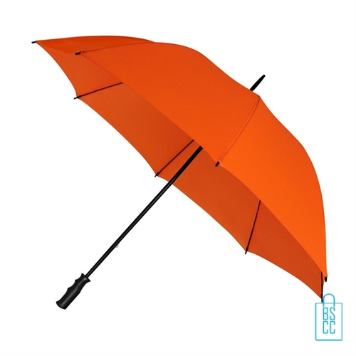 Golf paraplu bedrukken GP-6 oranje