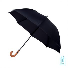 Golf paraplu bedrukken zwart GP-17