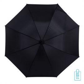 Golf paraplu bedrukken zwart GP-17 zwarte