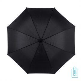 Golf paraplu bedrukken zwart GP-49 goedkoop