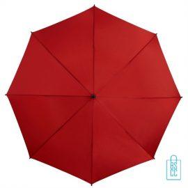 Golf paraplu bedrukt GP-6 rood goedkoop