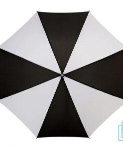Luxe paraplu bedrukken GP-5 zwart wit