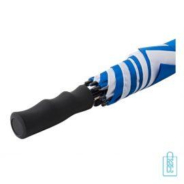 Luxe paraplu bedrukken GP-59 blauw wit windproof