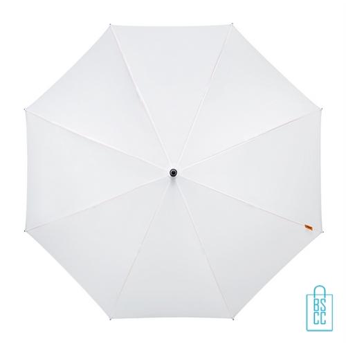 Luxe paraplu bedrukken GP-67 wit budget