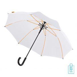 Luxe paraplu bedrukken GP-67 wit stormparaplu