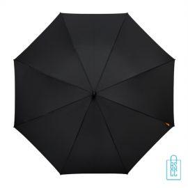 Luxe paraplu bedrukken GP-67 zwart budget