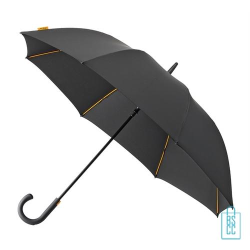 Luxe paraplu bedrukken GP-67 zwart