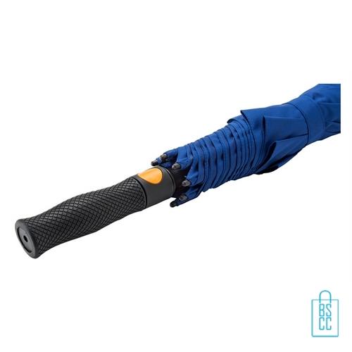 Luxe paraplu bedrukken GP-76 automaat blauw